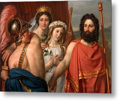 The Anger Of Achilles Metal Print