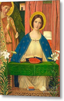 The Annunciation Metal Print