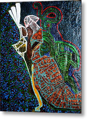The Annunciation Metal Print by Gloria Ssali