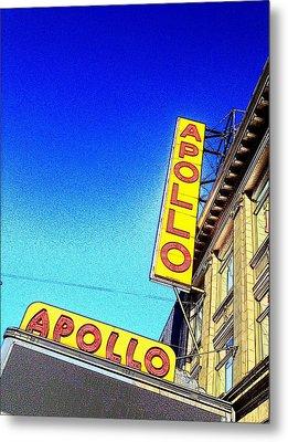 The Apollo Metal Print by Gilda Parente