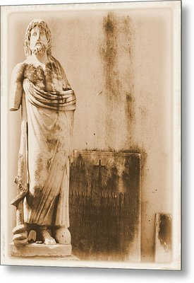 Metal Print featuring the photograph The Apostle by Nadalyn Larsen