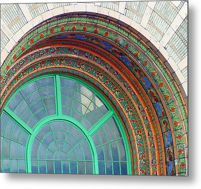 The Arching Entryway Metal Print by Chip Schilling