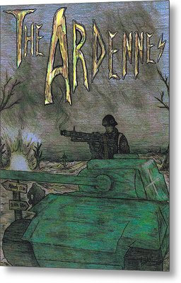 The Ardennes Metal Print