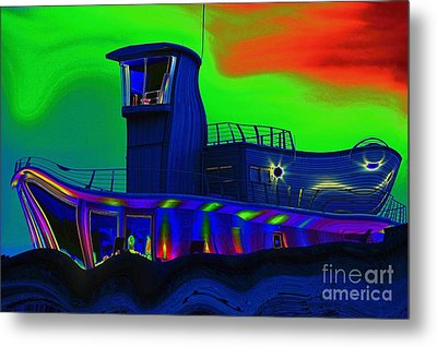 Metal Print featuring the photograph The Ark by Les Bell