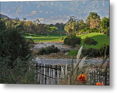 The Arroyo In Rancho Mirage Metal Print by Kirsten Giving