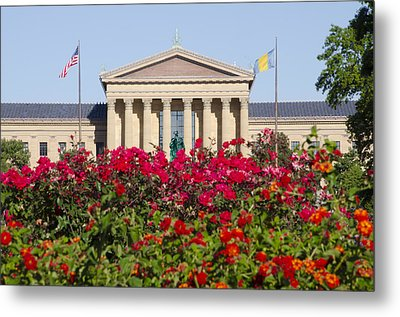 The Art Museum In Summer Metal Print by Bill Cannon