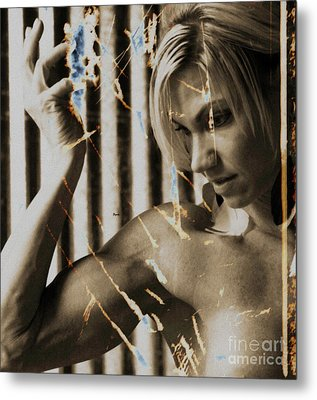 The Art Of Beauty  Metal Print by Steven  Digman