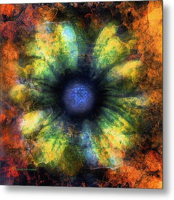 The Art Of Decay Metal Print