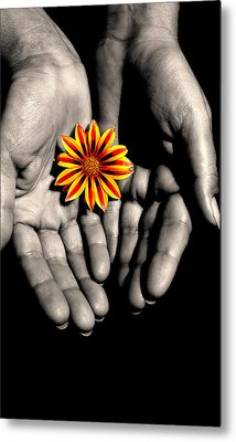 The Art Of Giving Metal Print by Marwan Khoury