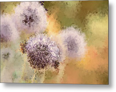 The Art Of Pollination Metal Print by Peggy Collins