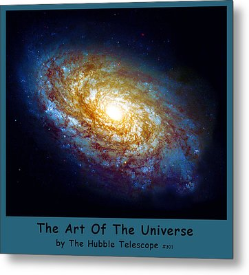 The Art Of The Universe 301 Metal Print by The Hubble Telescope