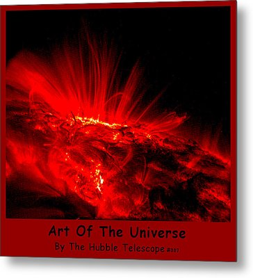 The Art Of The Universe 307 Metal Print by The Hubble Telescope