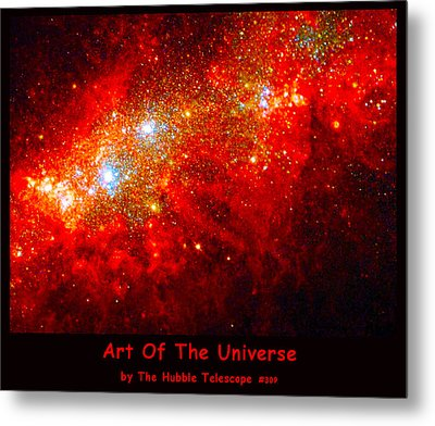 The Art Of The Universe 309 Metal Print by The Hubble Telescope