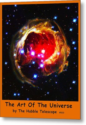 The Art Of The Universe 323 Metal Print by The Hubble Telescope
