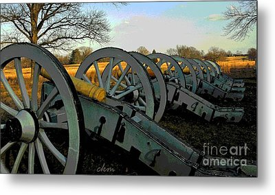 The Artillery Metal Print by Cindy Manero