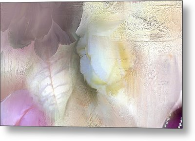 The Artrists Rose Metal Print