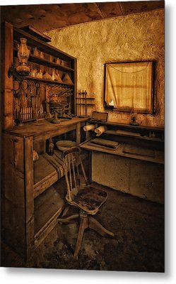 The Assay Office Metal Print by Priscilla Burgers