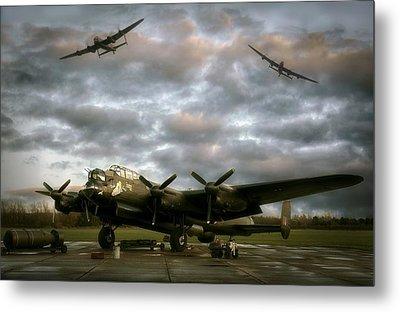 The Avro Lancaster Trio Metal Print