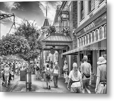 Metal Print featuring the photograph The Bakery by Howard Salmon