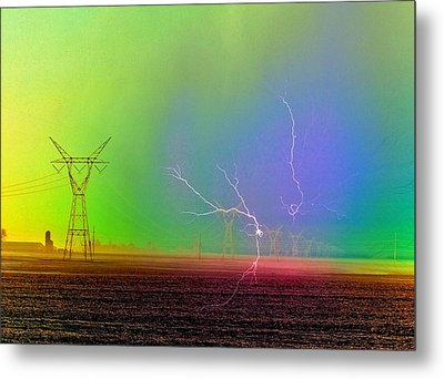 The Balance Of Powers Metal Print by Tom Druin