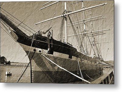 The Balclutha Metal Print by Holly Blunkall