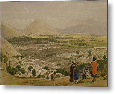 The Balla Hissar And City Of Caubul Metal Print