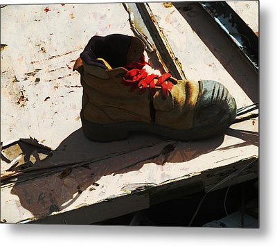 The Ballet Boot Metal Print