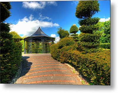 The Bandstand Metal Print by Steve Purnell