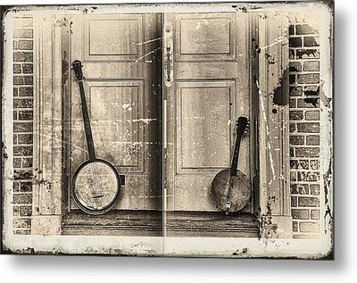 The Banjo Story Metal Print by Bill Cannon