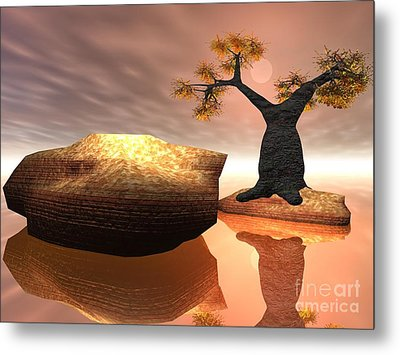 The Baobab Tree Metal Print
