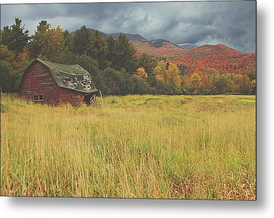 The Barn Metal Print by Carrie Ann Grippo-Pike