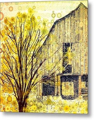 The Barn Where... Metal Print