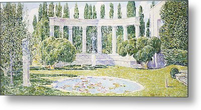 The Bartlett Gardens Metal Print