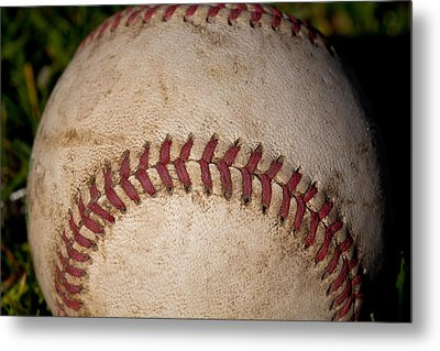The Baseball II Metal Print by David Patterson