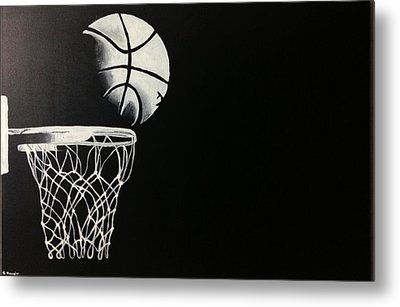 The Basketball Metal Print by Sanjay Thamake