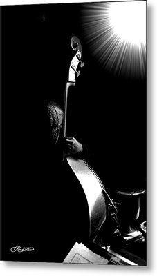 The Bassman Metal Print by Vernon Rowlette