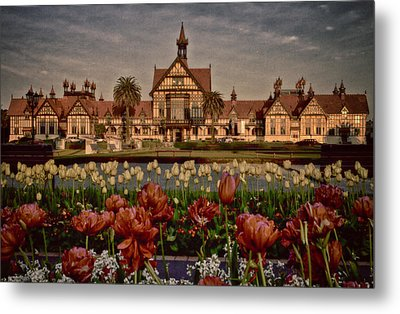 Metal Print featuring the photograph The Bath House by Kim Andelkovic
