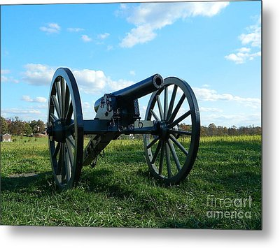 Metal Print featuring the photograph The Battle Is Over - Gettysburg by Emmy Marie Vickers