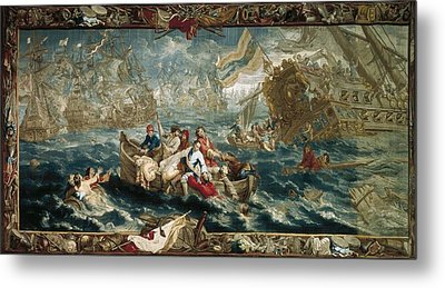 The Battle Of La Hogue, May 1692 Metal Print by Everett