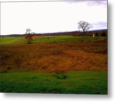 Metal Print featuring the photograph The Battlefield Of Gettysburg by Amazing Photographs AKA Christian Wilson