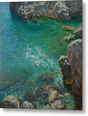 The Bay Metal Print by Korobkin Anatoly