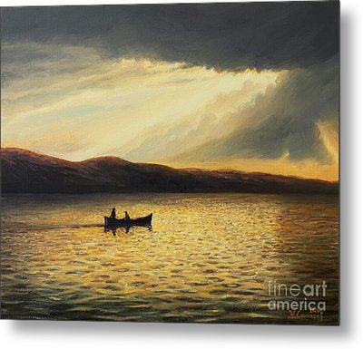 The Bay Of Silence Metal Print by Kiril Stanchev