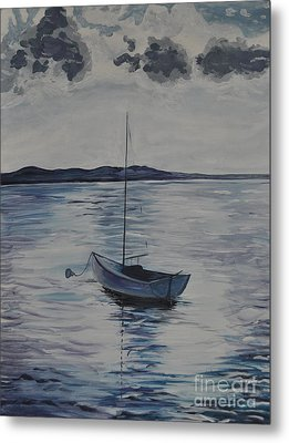 The Bay Metal Print by Sally Rice