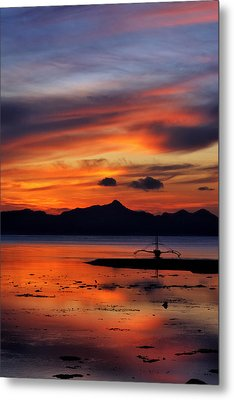 Metal Print featuring the photograph The Beach by John Swartz