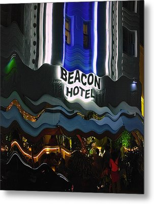 Metal Print featuring the photograph The Beacon Hotel by Gary Dean Mercer Clark