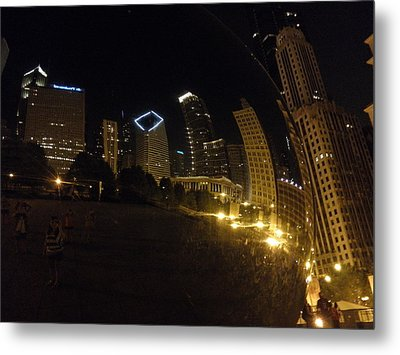 Metal Print featuring the photograph The Bean by Tiffany Erdman