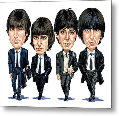 The Beatles Metal Print by Art