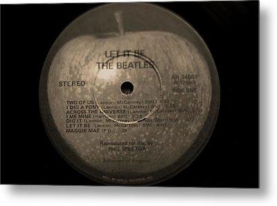 The Beatles Let It Be Metal Print by Dan Sproul