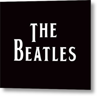 The Beatles Metal Print by Marvin Blaine