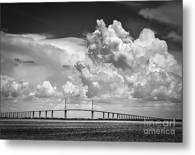The Beautiful Skyway Metal Print